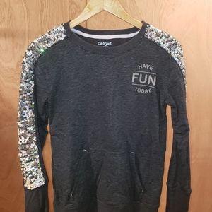 Cat & Jack Sparkly Sweater